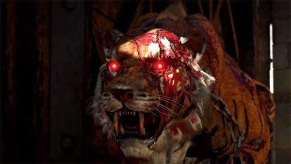 how to kill a zombie tiger with a brain rotted tiger, black ops 4, ix, zombies