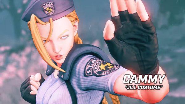 Sreet Fighter V Resident Evil