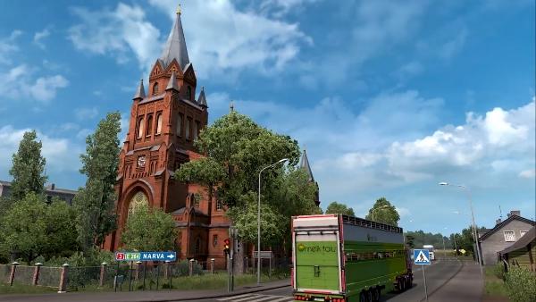 Euro truck simulator 2 beyond the baltic sea dlc pc | Download Euro