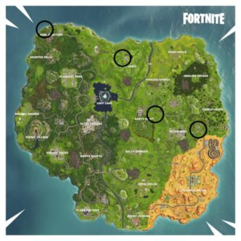 Fortnite Vehicle Timed Trials Map