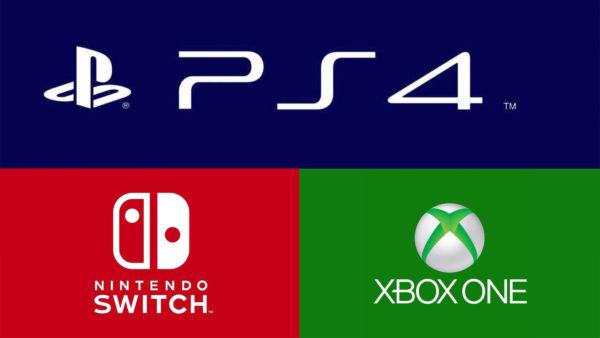 PS4 Xbox One Switch Logos, NPD