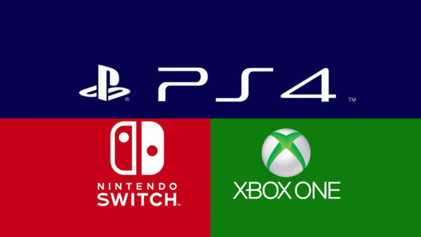 PS4 Xbox One Switch Logos