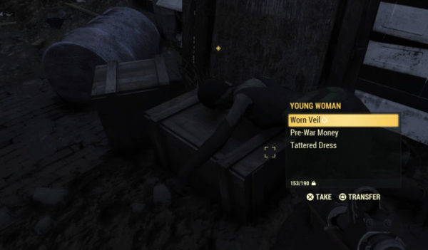 Fallout 76 Order of Mystery