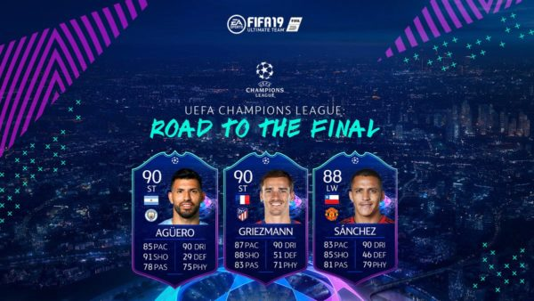fifa 19, road to final, champions league