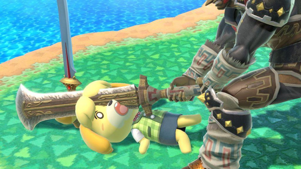 Isabelle Super Smash Bros Ultimate