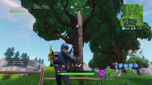 Fortnite, where to destroy wooden utility poles