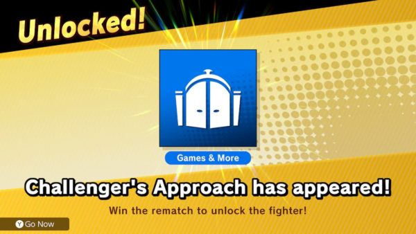 Smash Bros Ultimate, Challenger's Approach, how to retry challenger fights in Smash Bros Ultimate