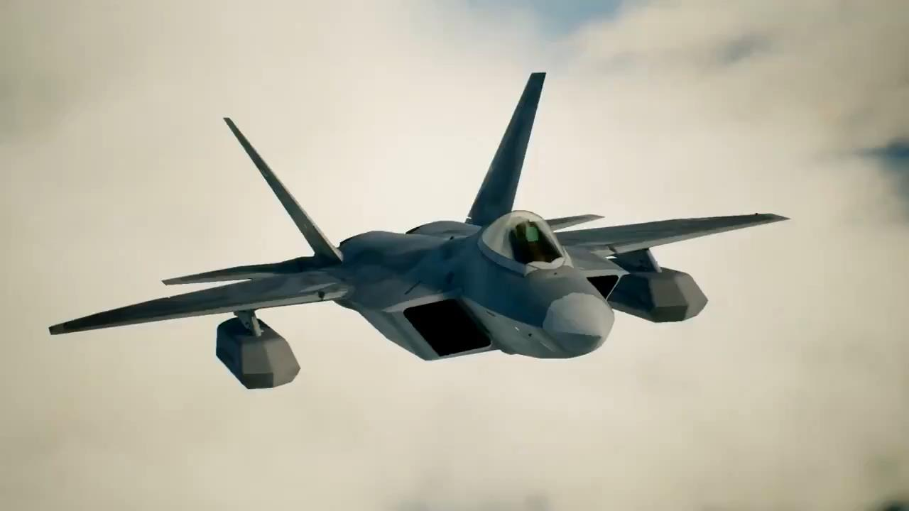 Ace Combat 7 FF-22 Raptor