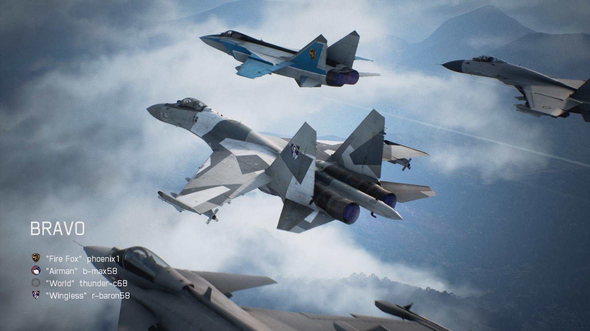 Ace Combat, co-op multiplayer