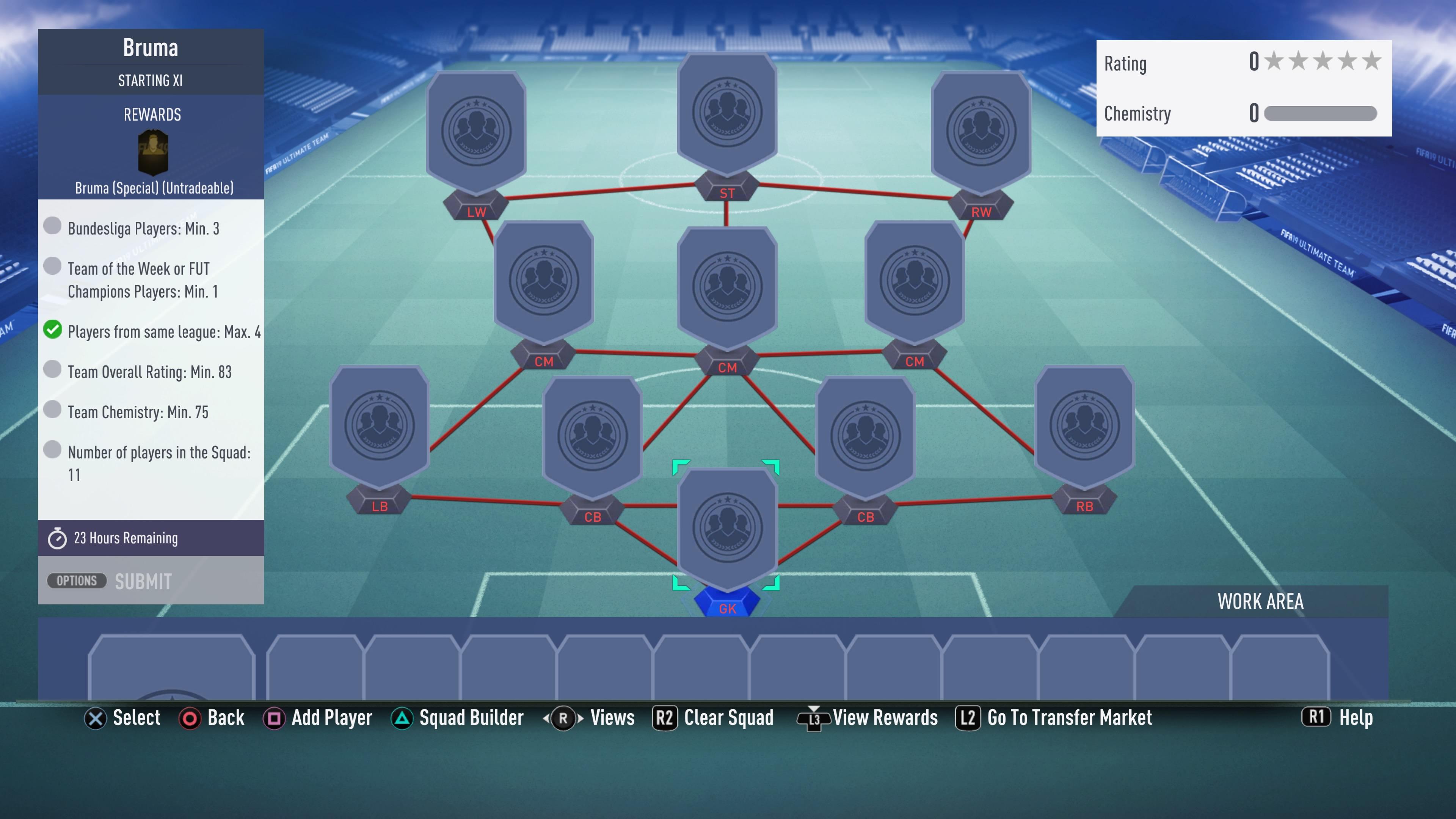 FIFA 19, bruma futmas sbc