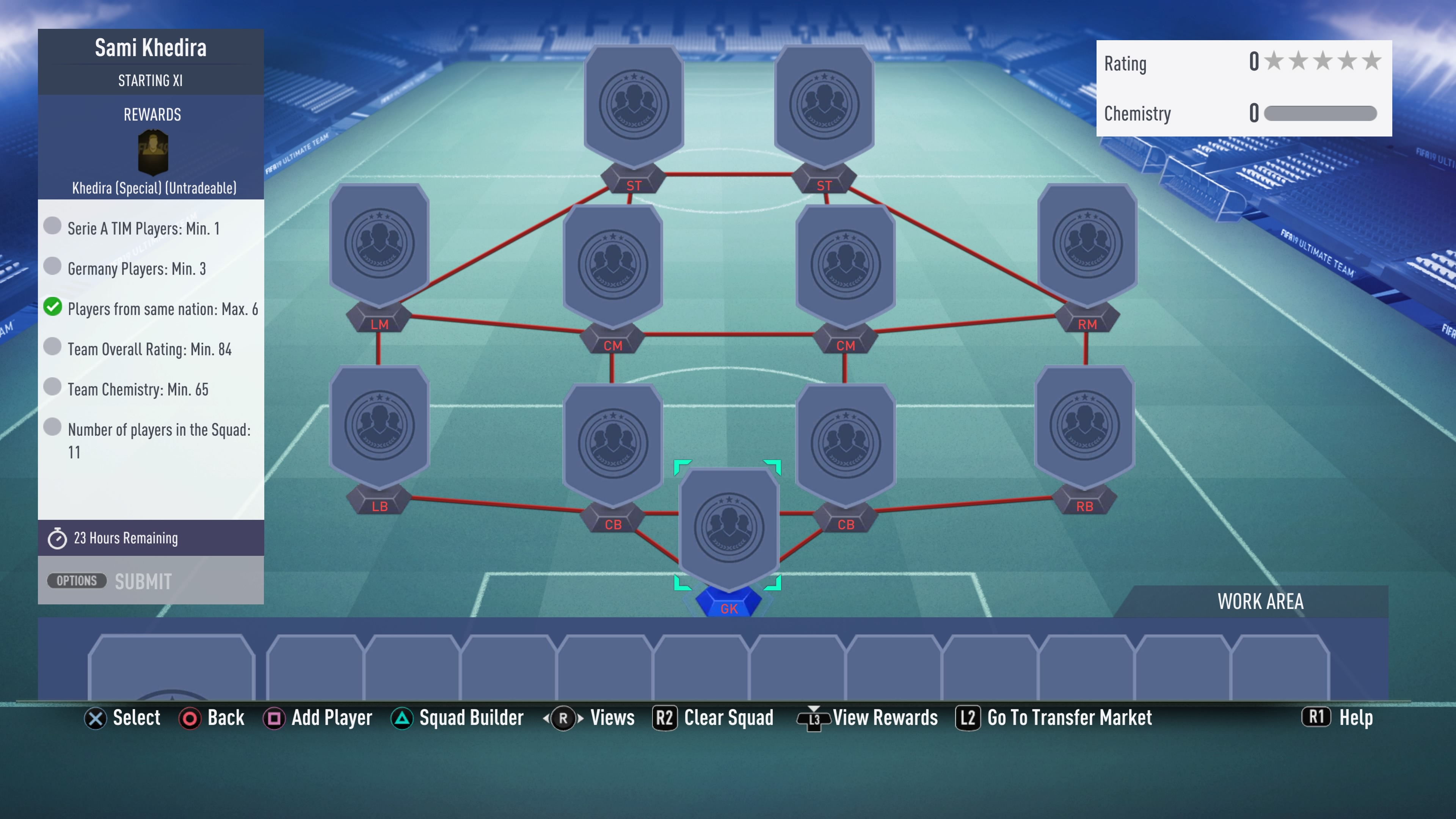 FIFA 19, khedira futmas sbc