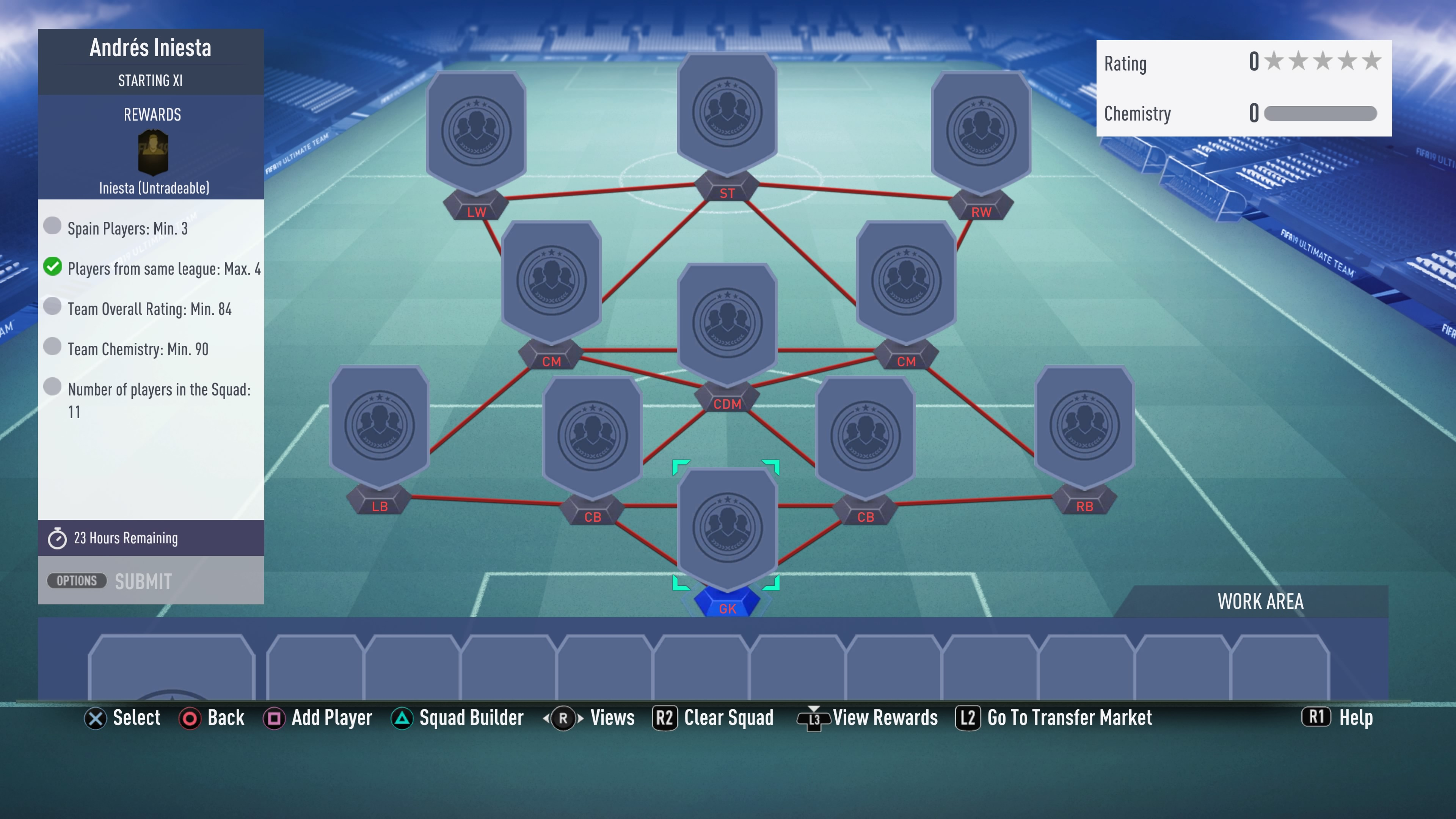 FIFA 19, iniesta, futmas sbc