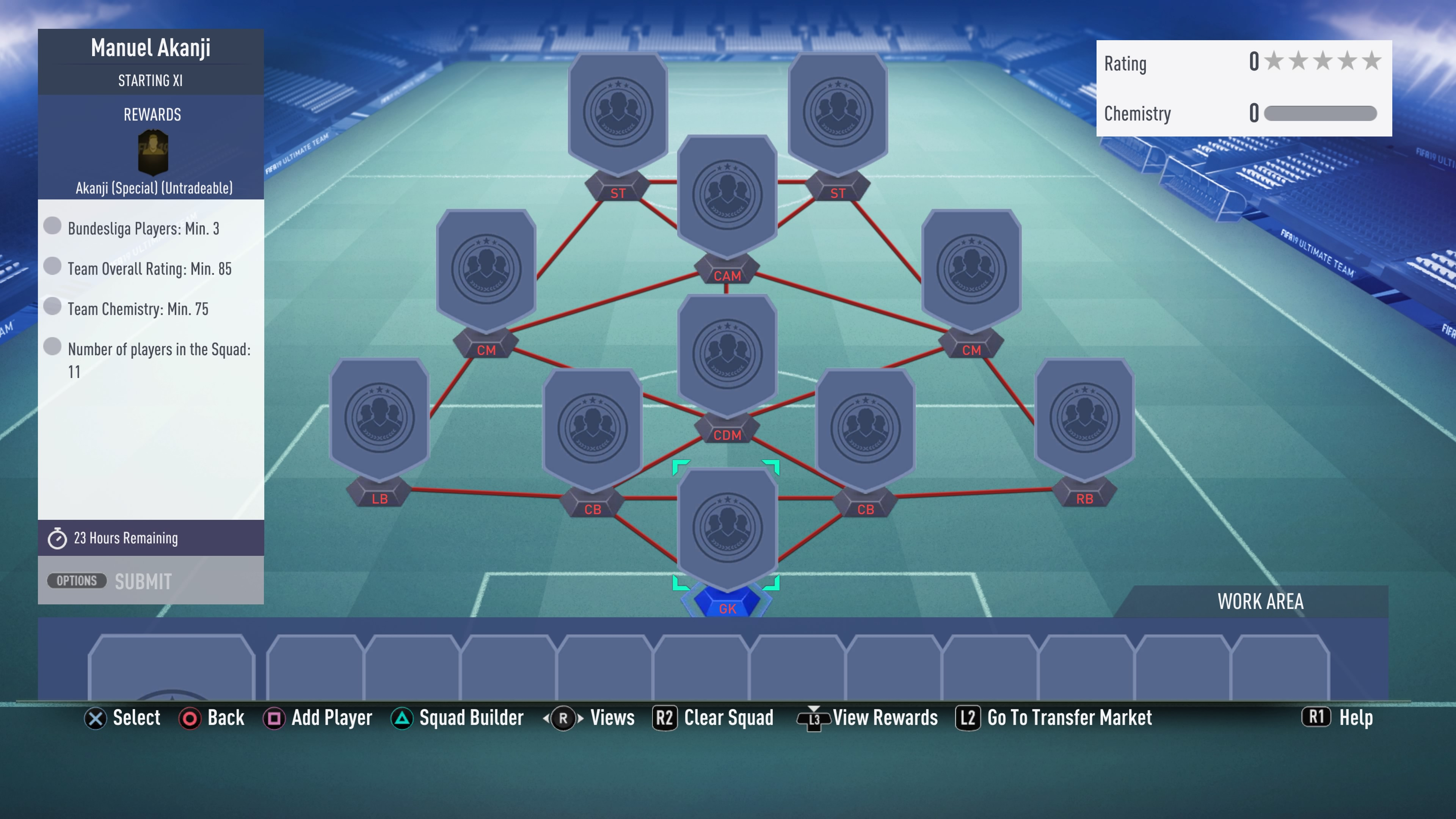 FIFA 19 futmas, akanji, sbc