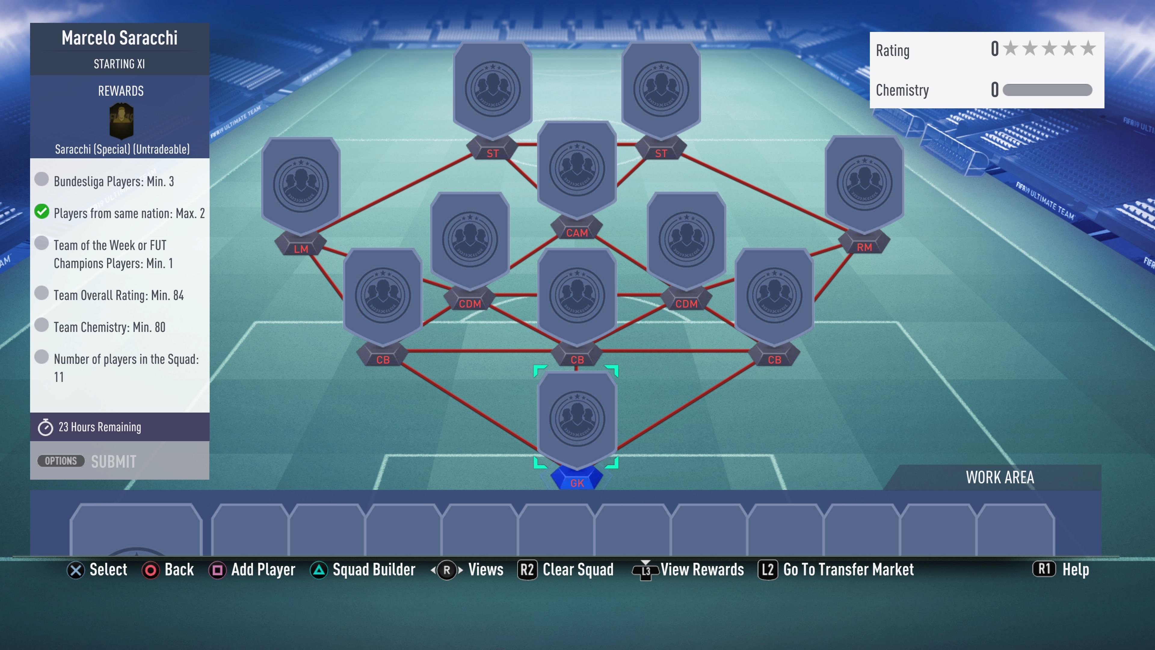 FIFA 19, saracchi futmas sbc