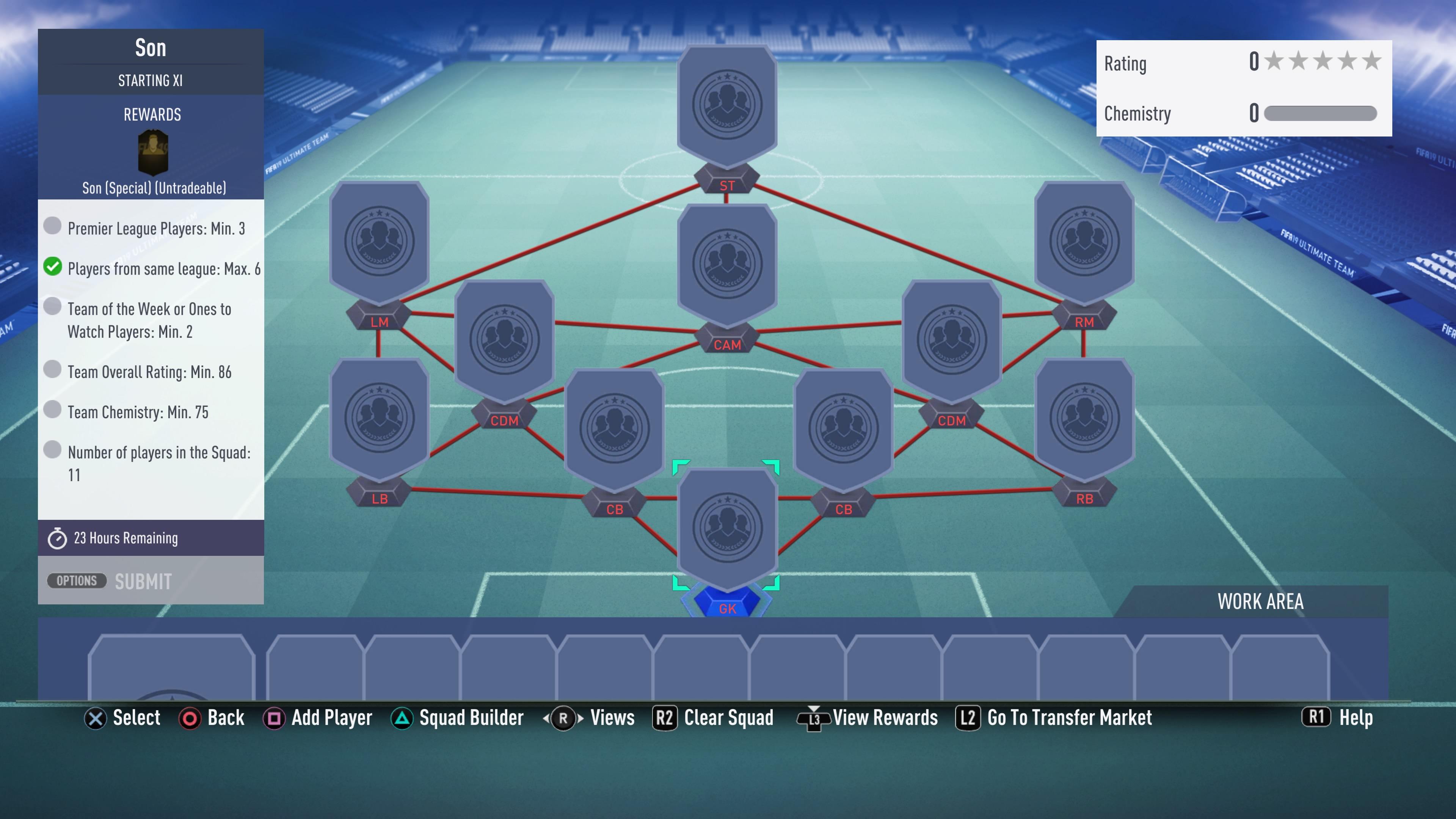 FIFA 19, son futmas sbc