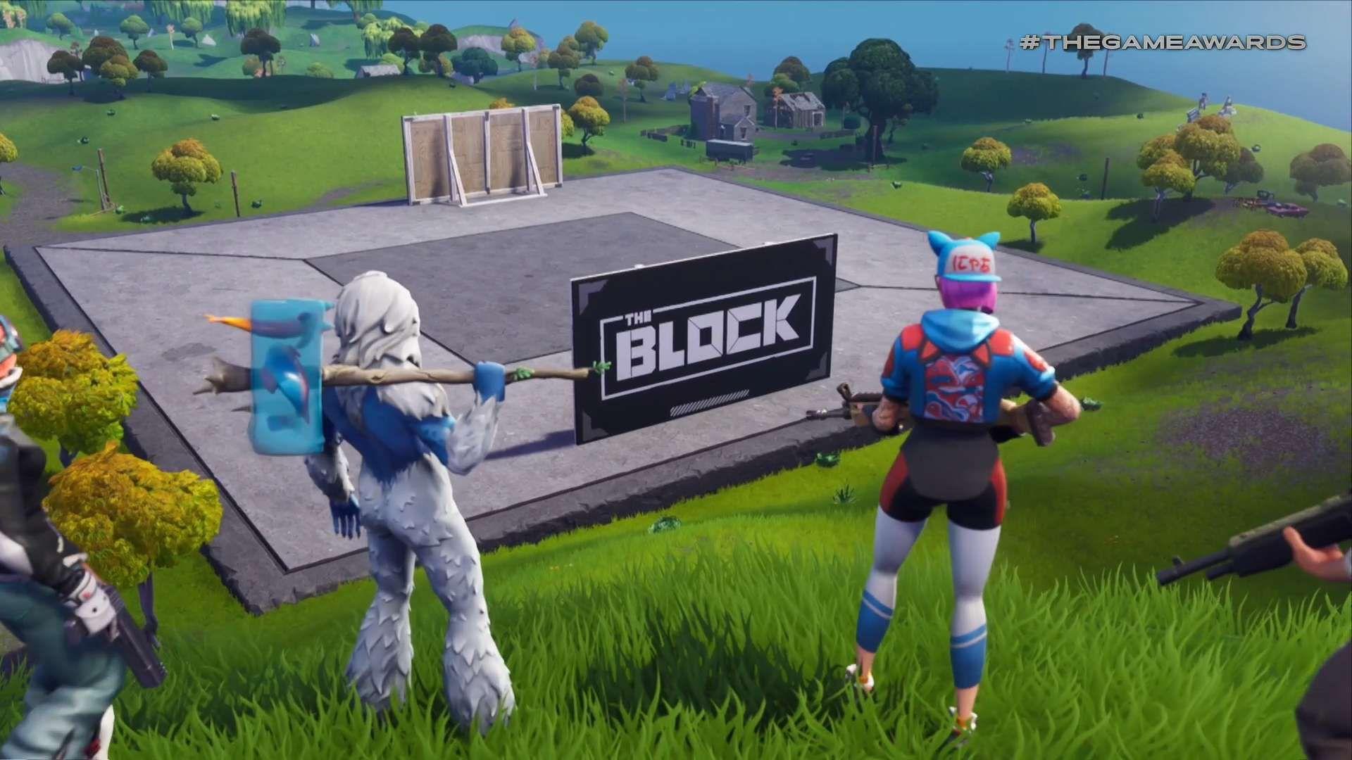 Fortnite The Block