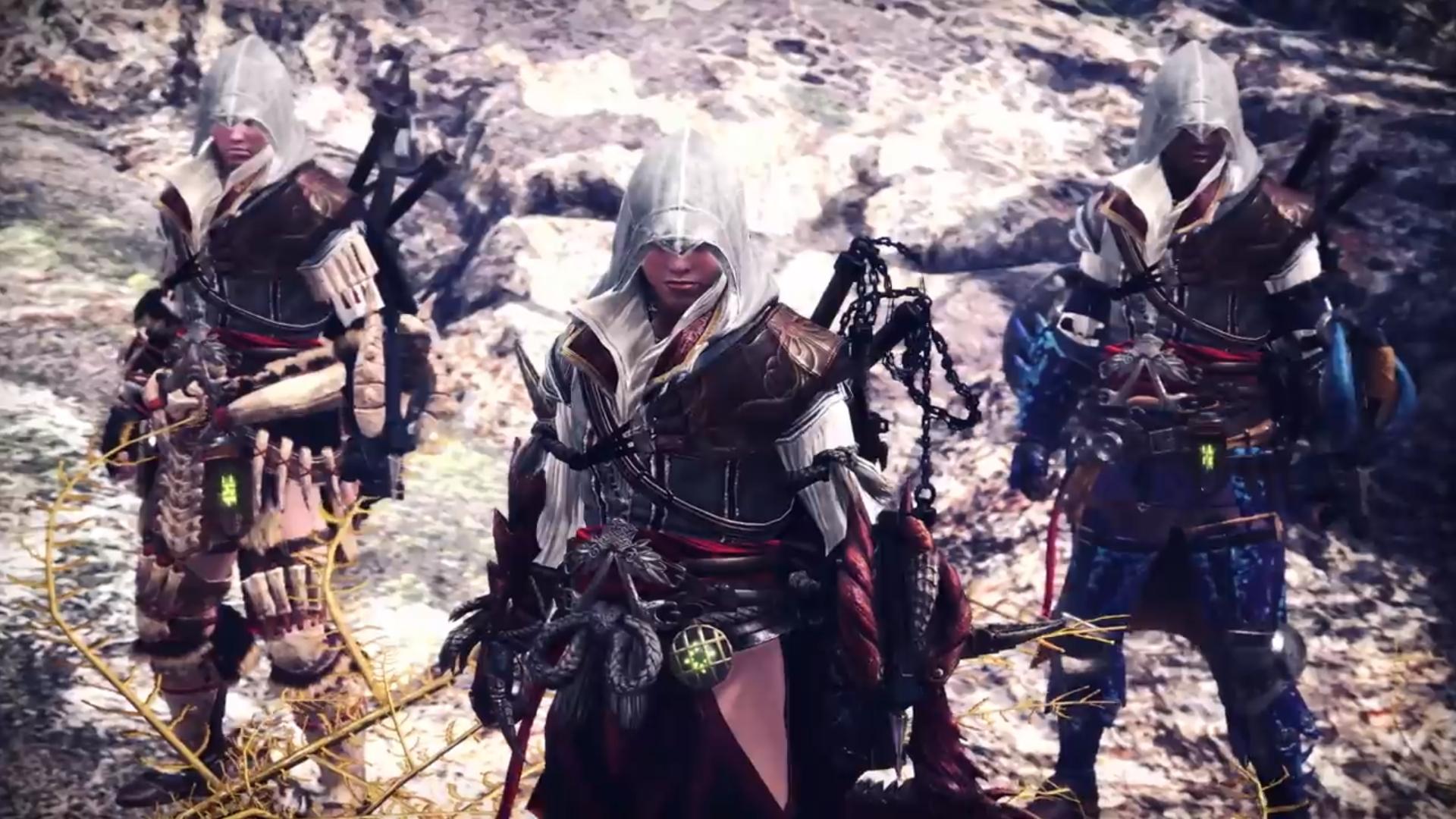 Monster Hunter: World, Assassin's Creed