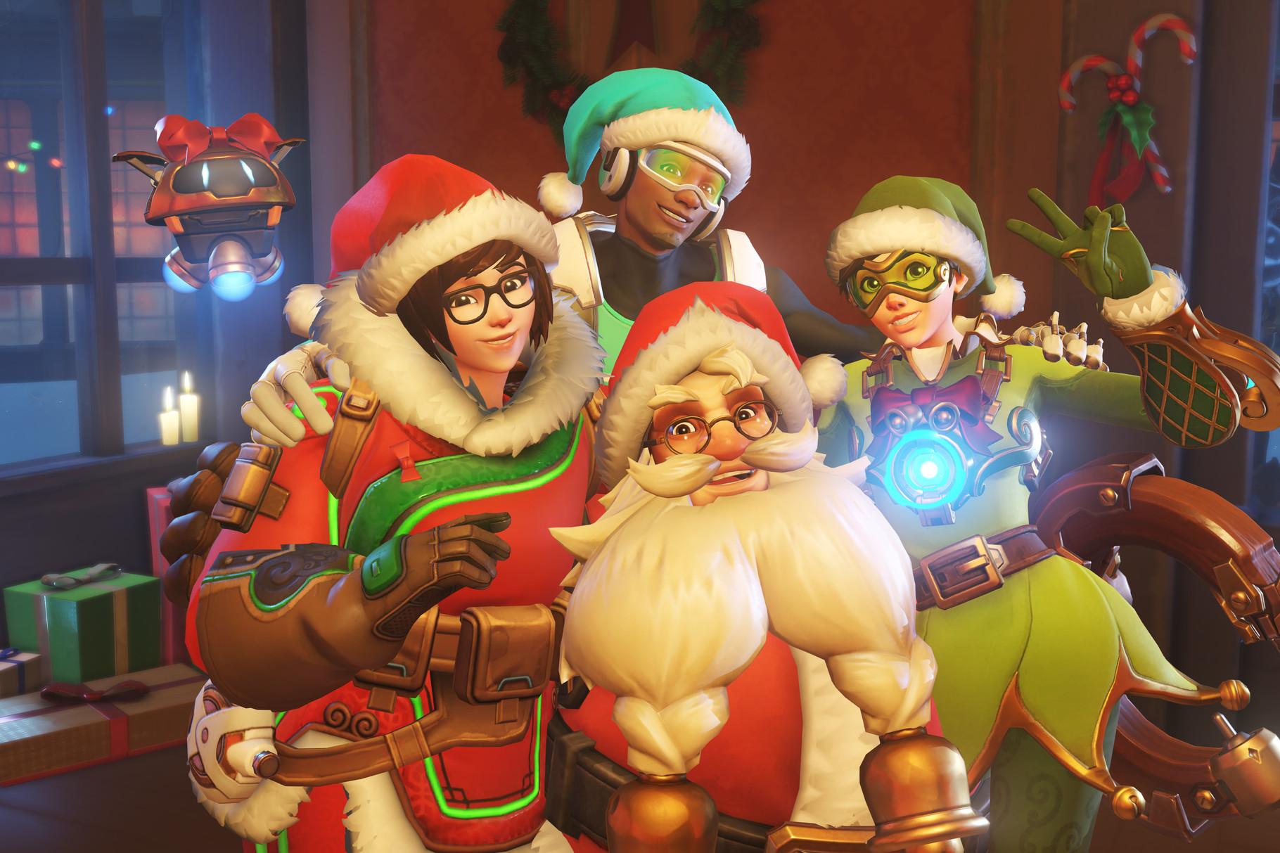 Overwatch Winter Wonderland Holiday Picture
