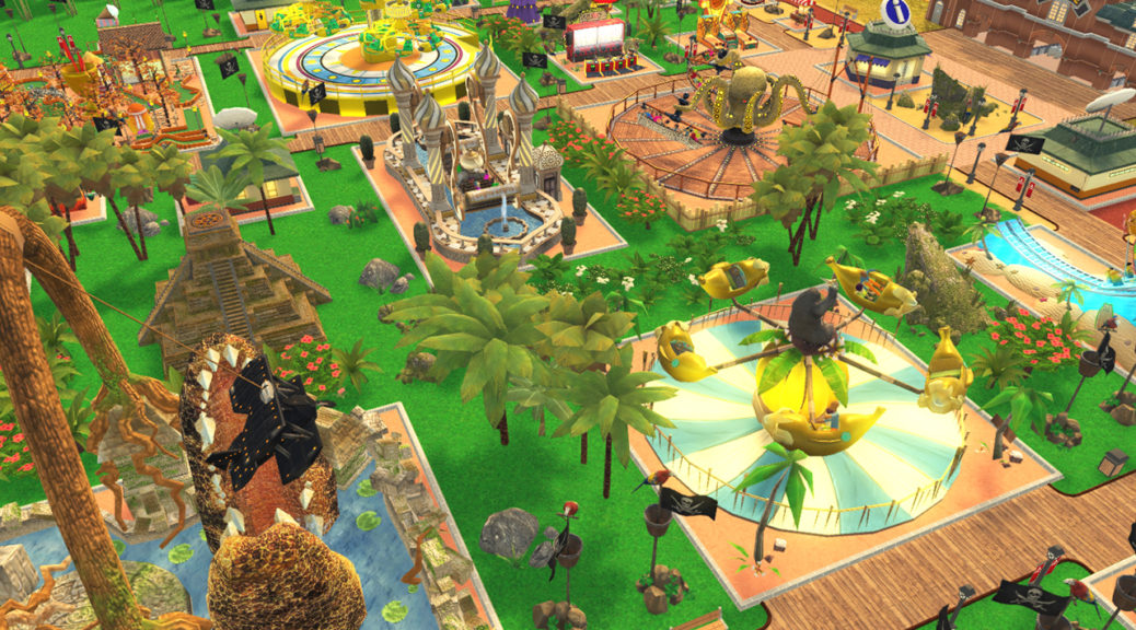 roller coaster tycoon switch, how to increase park value
