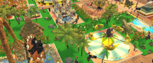 roller coaster tycoon, switch, save, exit