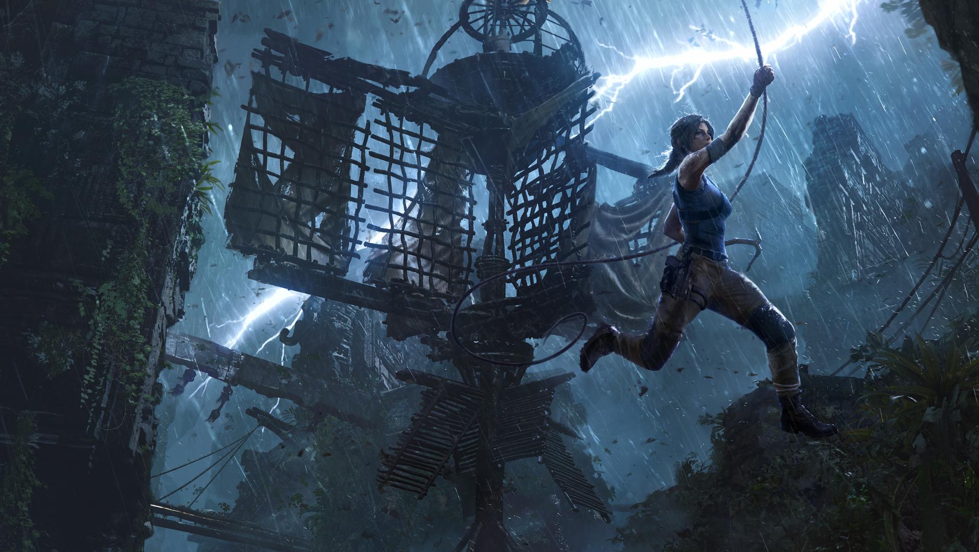 The Pillar, Tomb Raider, Shadow of the Tomb Raider, DLC, Square Enix, challenge tomb, Lara Croft