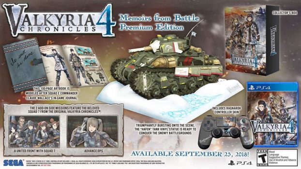 Valkyria Chronicles 4 Memoirs From Battle Premium Edition