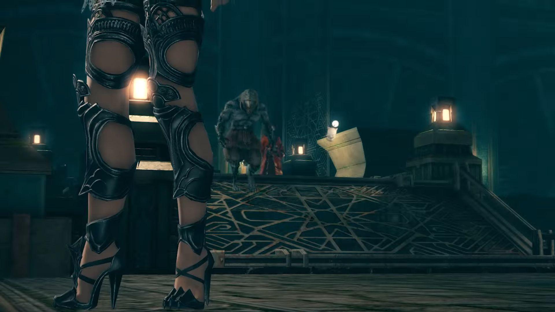 Final Fantasy XIV Viera Tease