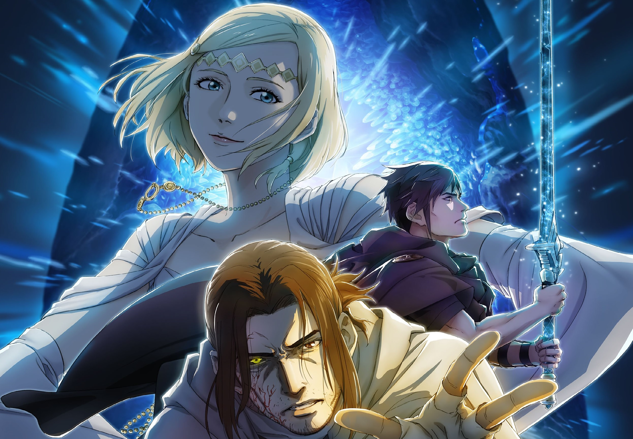Final Fantasy Xv Episode Ardyn Prologue Anime Gets Key Art