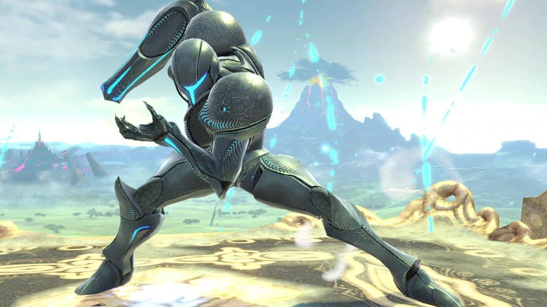 super smash bros ultimate, dark samus