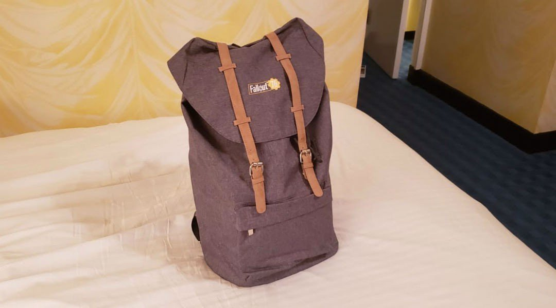 Canvas Bag, Fallout 76, Influencer Event, Collector's Edition