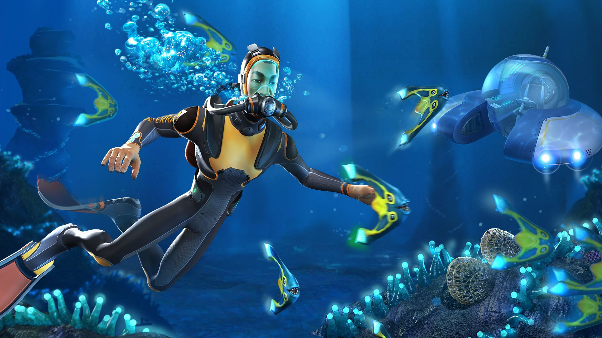 Subnautica, how to get cave sulfur