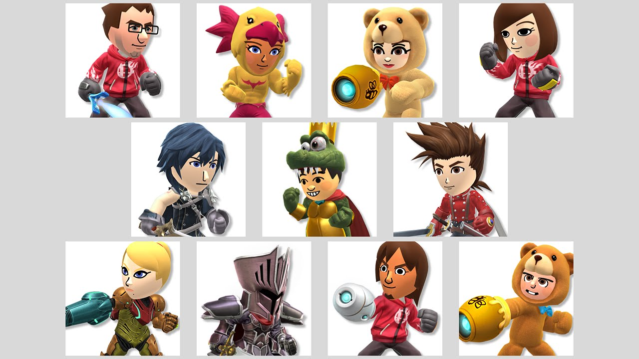 Mii Fighter, Super Smash Bros. Ultimate