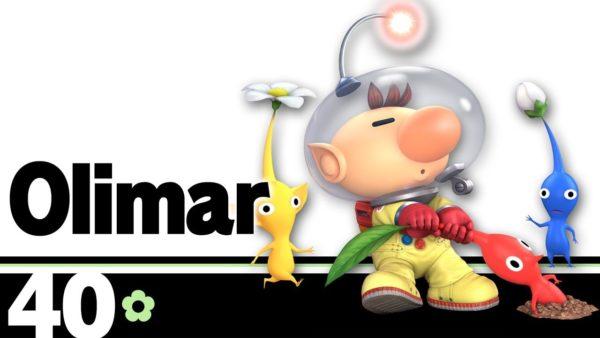 best characters, smash bros ultimate, super smash bros ultimate, tier list, olimar