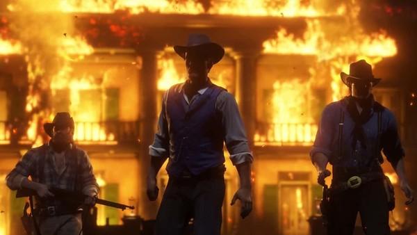 Red Dead Redemption 2, Braithwaite Manor Raid, Best Moments in Gaming 2018