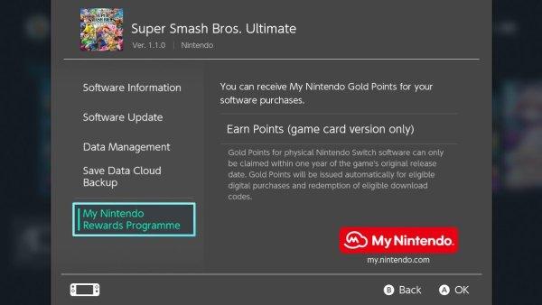 register Nintendo Switch games