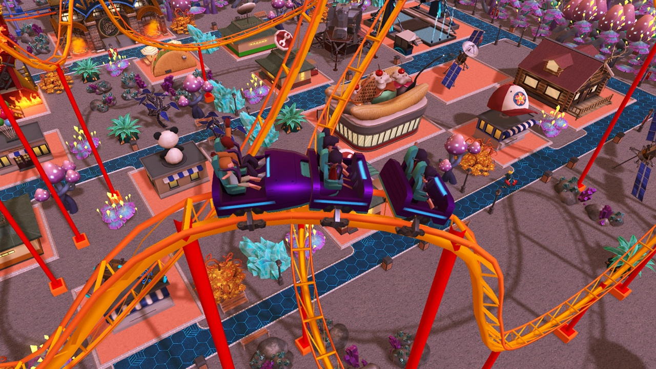 roller coaster tycoon adventures, review, switch