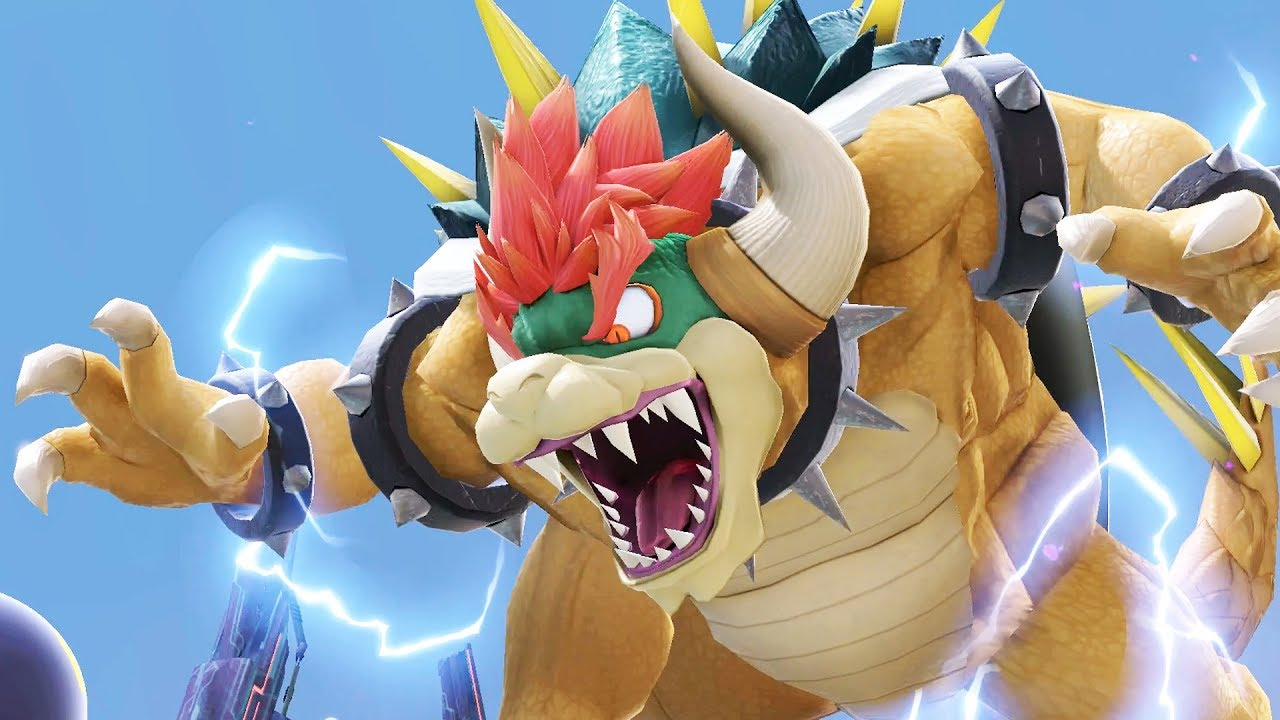 smash bros ultimate, giga bowser, how to beat giga bowser in smash bros ultimate