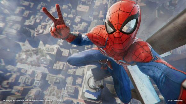 best games 2018, Marvel's Spider-Man