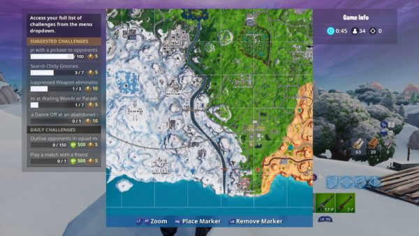 Fortnite Chilly Gnomes Locations