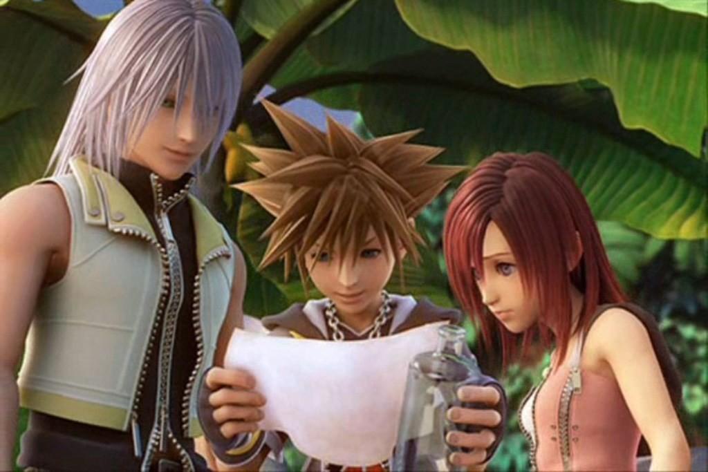Kingdom Hearts, Sora, Riku, Kairi