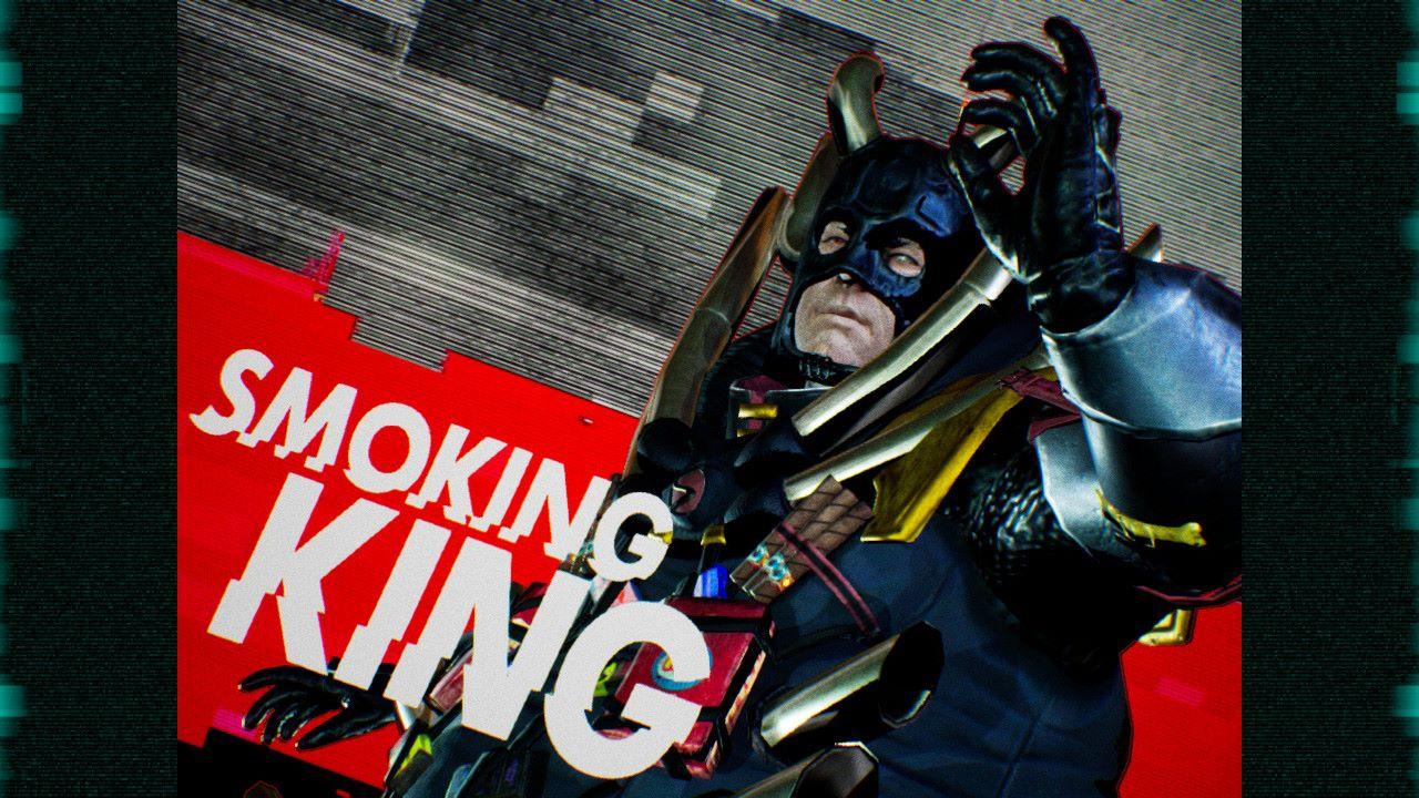 How to Beat Smoking King in Travis Strikes Again