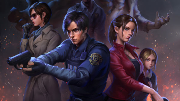 wallpapers, desktop background, resident evil 2