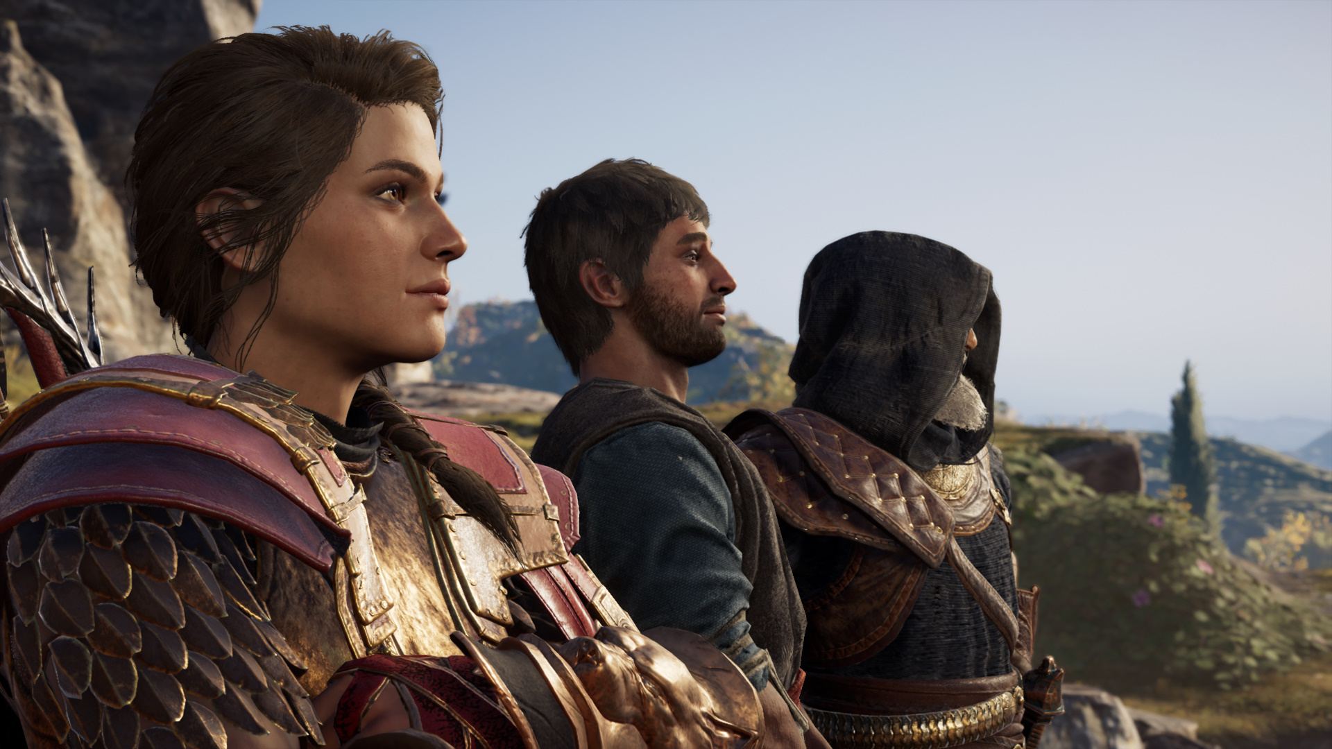 Assassin's Creed Odyssey, DLC, controversy, cutscene, ubisoft, changes, assassin's creed, odyssey, relationship, heterosexual