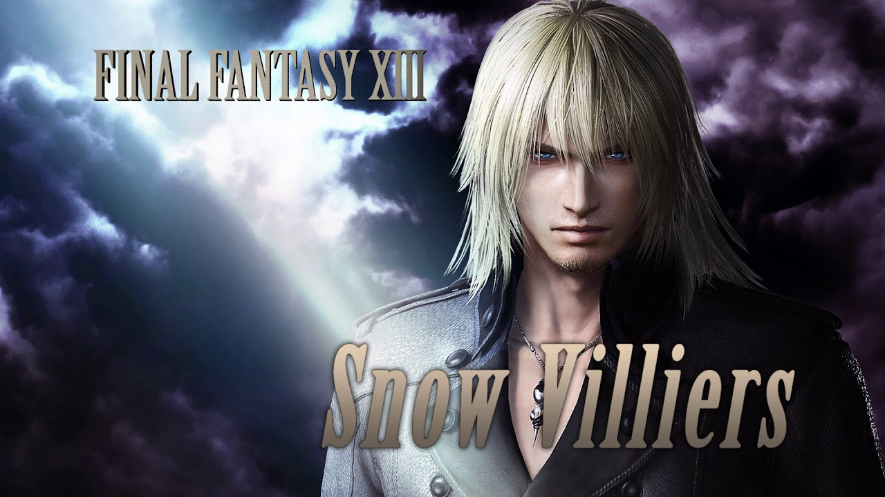 Dissidia Final Fantasy Snow