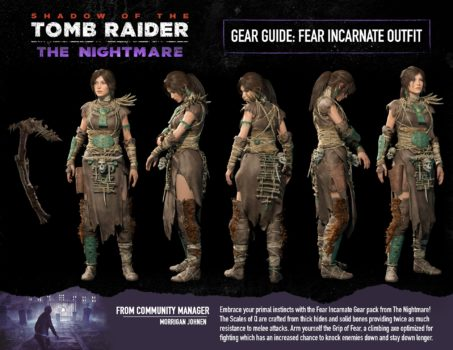 tomb raider, the nightmare, nightmare, shadow of the tomb raider, dlc, guide, need to know, square enix
