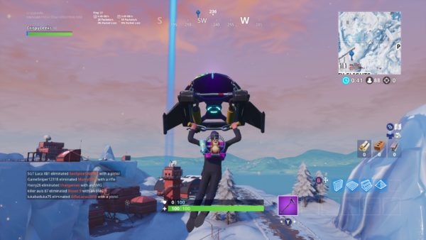 Fortnite, where to dance on top of a Air Traffic Control Tower, Location