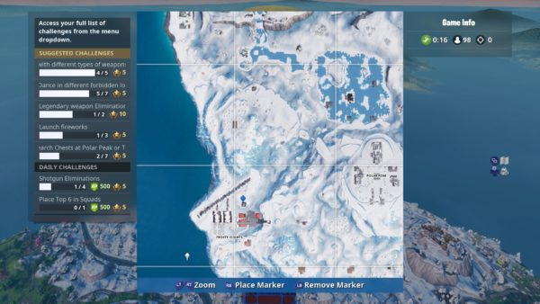 Fortnite Air Traffic Control Tower Map Location