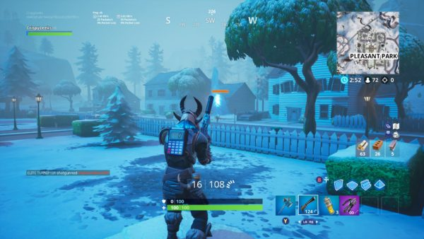 Ice Brute Spawn Point in Fortnite