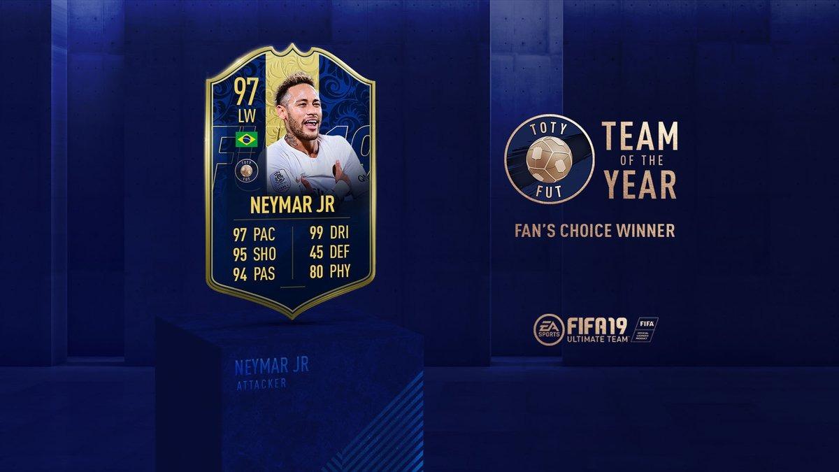 FIFA 19, TOTY