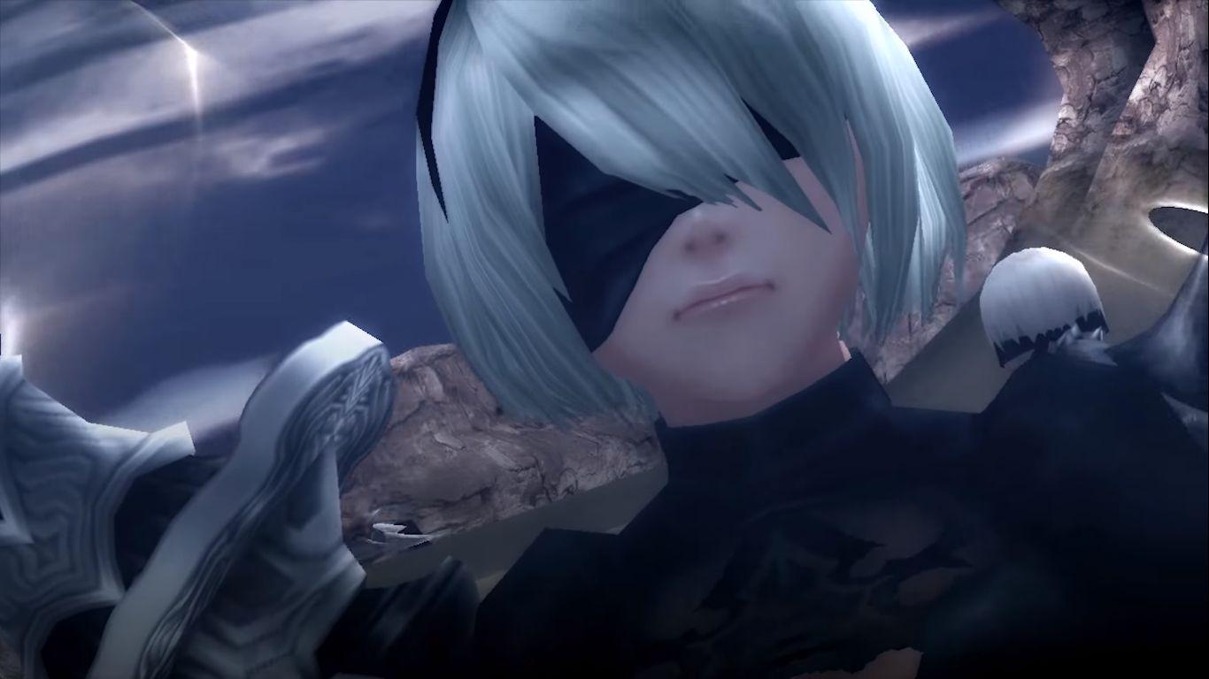 NieR Automata Monsterr Hunter